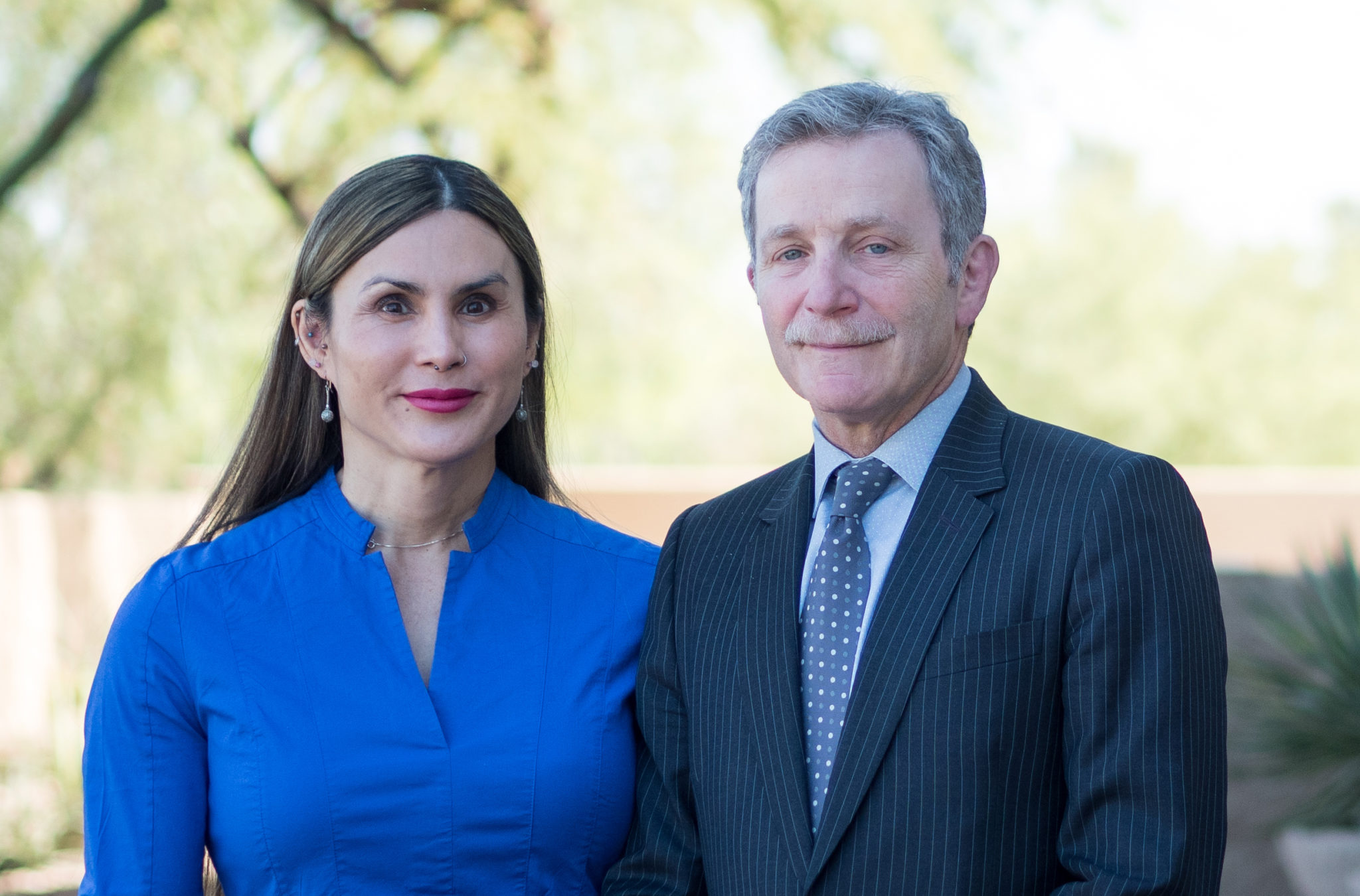 Ellie Zara Ley MD and Toby R Meltzer MD Meltzer Clinic PC homepage picture